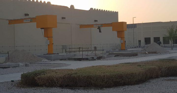 ATS Cranes Verlinde Qatar