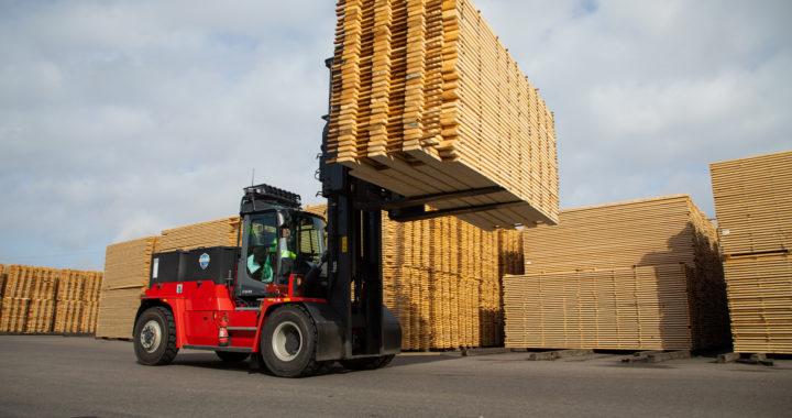 Kalmar Cargotec Electric Forklift